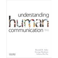Understanding Human Communication by Adler, Ronald B.; Rodman, George; du Pré, Athena, 9780199334322