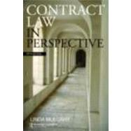 Contract Law in Perspective by Mulcahy; Linda, 9780415444323