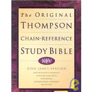 Original Thompson Chain Reference Bible by World Bible Publishing, 9780529114327