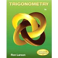 Trigonometry by Larson, Ron, 9781133954330