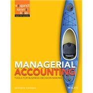 Managerial Accounting by Weygandt, Jerry J.; Kimmel, Paul D., Ph.D.; Kieso, Donald E., Ph.D., 9781118334331