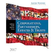 South-Western Federal Taxation 2017: Corporations, Partnerships, Estates and Trusts (with H&R Block� Premium & Business Access Code for Tax Filing Year 2015 & RIA Checkpoint�, 1 term (6 months) Printed Access Card) by Hoffman, William H. Jr.; Raabe, William A.; Maloney, David M.; Young, James C.; Boyd, James H., 9781305874336