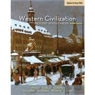 Western Civilization Beyond Boundaries, Volume II: Since 1560 by Noble, Thomas F. X.; Strauss, Barry; Osheim, Duane; Neuschel, Kristen; Accampo, Elinor, 9781133604341