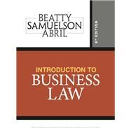 Introduction to Business Law by Beatty, Jeffrey F.; Samuelson, Susan S.; Sanchez Abril, Patricia, 9781337404341
