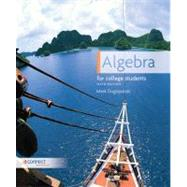 Algebra For College Students by Dugopolski , Mark, 9780073384344