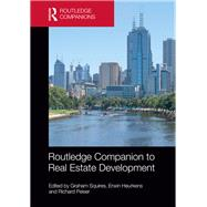 Routledge Companion to Real Estate Development by Squires; Graham, 9781138914346