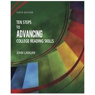 Ten Steps to Advancing College Reading Skills, 6/e by Langan, John, 9781591944348