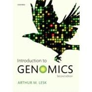 Introduction to Genomics by Lesk, Arthur M., 9780199564354
