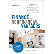 Finance for Nonfinancial Managers, Second Edition (Briefcase Books Series) by Siciliano, Gene, 9780071824361