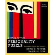 Pieces of the Personality Puzzle : Readings in Theory and Research by FUNDER,DAVID C., 9780393934366