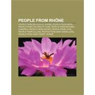 People from Rhône : Claude Bernard by , 9781156704370