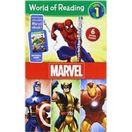 World of Reading Marvel Boxed Set by Disney Book Group; Disney Book Group, 9781484704370