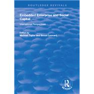 Embedded Enterprise and Social Capital: International Perspectives by Leonard,Simon, 9781138734371