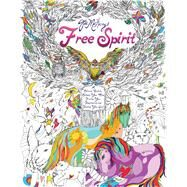 Free Spirit An Interactive Coloring Journal for Creative Living by Maharry, Jes, 9781501134371