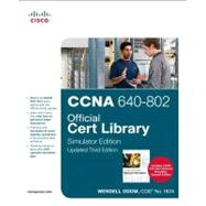 CCNA 640-802 Official Cert Library, Simulator Edition, Updated by Odom, Wendell, 9781587204371