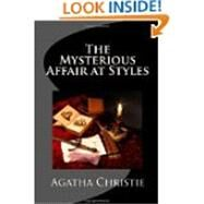 The Mysterious Affair at Styles: Hercule Poirot's First Case (Hercule Poirot Mysteries) by Agatha Christie, 9781434404374