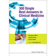 300 Single Best Answers in Clinical Medicine by Collins, George, 9781783264377