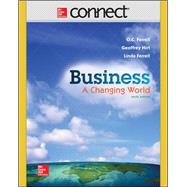 Connect Access Card for Business by Ferrell, O. C.; Hirt, Geoffrey; Ferrell, Linda, 9781259304378