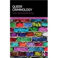 Queer Criminology by Buist; Carrie, 9781138824379