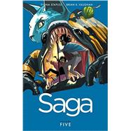 Saga 5 by Vaughan, Brian K.; Staples, Fiona (ART), 9781632154385