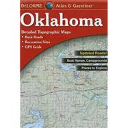 Delorme Atlas and Gazetteer Oklahoma by Delorme, 9780899334387