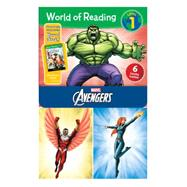 World of Reading Avengers Boxed Set by Disney Book Group; Disney Book Group, 9781484704387