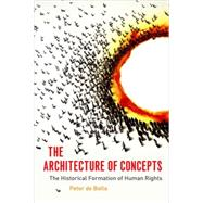 The Architecture of Concepts The Historical Formation of Human Rights by De Bolla, Peter, 9780823254392