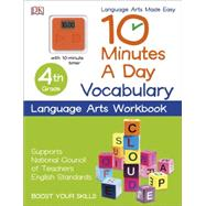 10 Minutes a Day: Vocabulary, Fourth Grade by DK Publishing, 9781465434395
