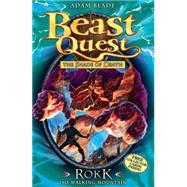 Beast Quest: 27: Rokk The Walking Mountain by Blade, Adam, 9781408304396