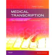 Medical Transcription: Techniques and Procedures (Book with Access Code) by Diehl, Marcy O., 9781437704396
