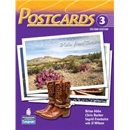 Postcards 3 with CD-ROM and Audio by ABBS & BARKER, 9780136064398