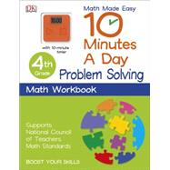 10 Minutes a Day: Problem Solving, Third Grade by DK Publishing, 9781465434401