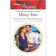 The Greek's Nine-Month Redemption by Yates, Maisey, 9780373134403