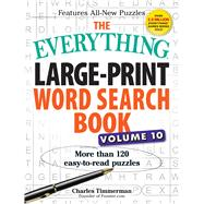 The Everything Large-print Word Search Book by Timmerman, Charles, 9781440594403