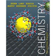 Chemistry The Central Science Plus Mastering Chemistry with eText -- Access Card Package by Brown, Theodore E.; LeMay, H. Eugene; Bursten, Bruce E.; Murphy, Catherine; Woodward, Patrick; Stoltzfus, Matthew E., 9780321864406