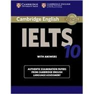 Cambridge English IELTS 10 with Answers by Cambridge University Pr, 9781107464407