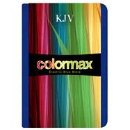 KJV Large Print Compact Bible, Electric Blue Colormax LeatherTouch by Holman Bible Staff, 9781433614408