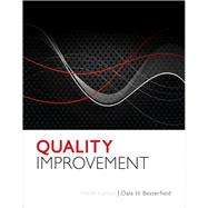 Quality Improvement by Besterfield, Dale H., Ph.D., P.E., 9780132624411