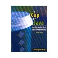 A Cup of Java: An Introduction to Programming 9780757574412N