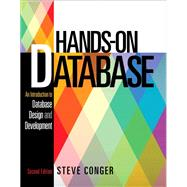 Hands-On Database by Conger, Steve, 9780133024418