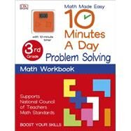 10 Minutes a Day: Problem Solving, Fourth Grade by DK Publishing, 9781465434418