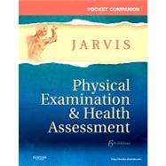 Pocket Companion for Physical Examination & Health Assessment by Jarvis, Carolyn; Thomas, Pat; Strandberg, Kevin (CON), 9781437714425