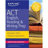 Kaplan Act English, Reading & Writing Prep by Kaplan, Inc., 9781506214429