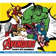 Marvel: The Avengers Paint-by-Number Re-create Five Classic Scenes from the Marvel Universe by Wallace, Daniel, 9781626864429