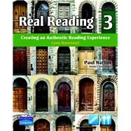 Real Reading 3 Creating an Authentic Reading Experience (mp3 files included) by Bonesteel, Lynn, 9780137144433