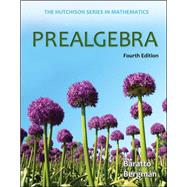 Prealgebra by Baratto, Stefan; Bergman, Barry; Hutchison, Donald, 9780073384436