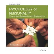 The Psychology of Personality by Carducci, Bernardo J., 9781118504437