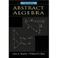 Abstract Algebra by Beachy, John A.; Blair, William D., 9781577664437