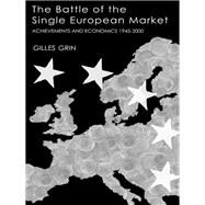 Battle Of Single European Market by Grin, 9781138964440