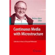 Continuous Media With Microstructure by Albers, Bettina, 9783642114441